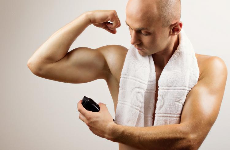 male body spray deodorant